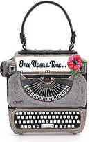 Mary Frances Just My Type Once Upon A Time Typewriter Beaded Top-Handle Clutch