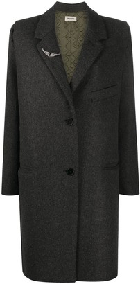 Zadig & Voltaire Marla single-breasted coat