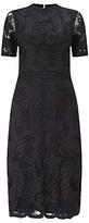 Phase Eight Allandra Tapework Dress, Black