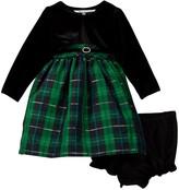 Pippa & Julie Plaid Dress with Jacket (Baby Girls)