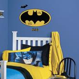 RoomMates 5 in. x 19 in. Batman Logo Dry Erase Peel and Stick Giant Wall Decal