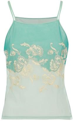 La Perla Turquoise Top for Women
