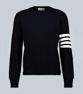 Thom Browne 4-Bar Milano cotton sweater