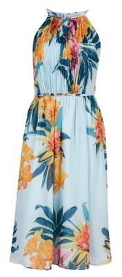 Dorothy Perkins Womens **Showcase Sage Green Floral Print 'Millie' Midi Dress, Green