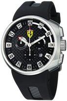 Ferrari F1 Podium Carbon Fiber Chronograph Dial Men's Swiss Made Watch FE-10-ACC-CG-FC-FC