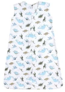 Hudson Baby Baby Girls and Baby Boys Safe Sleep Wearable Jersey Sleeping Bag, 1-Pack