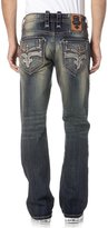 Rock Revival Men's Kent J203 Straight Cut Jeans