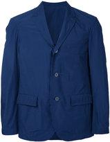 08sircus lightweight single-breasted blazer - men - Cotton/Polyester - 5