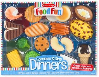 Melissa & Doug Food Fun Combine & Dine Dinners II