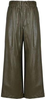 Jejia Vegan Leather Trousers