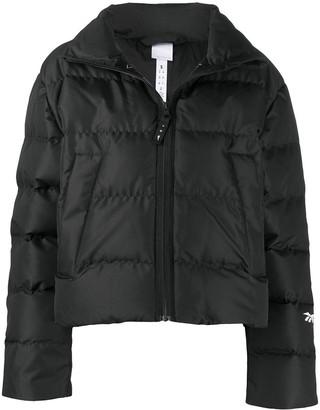 Reebok x Victoria Beckham Logo-Patch Puffer Jacket