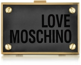 Love Moschino Transparent Plexiglass Signature Clutch