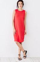 J. Jill Shirred-Back Tank Dress
