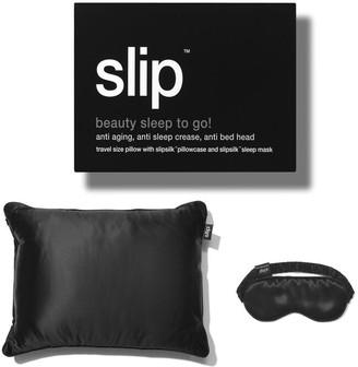 Slip Beauty Sleep on the Go! Travel Set - Black