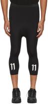 11 By Boris Bidjan Saberi Black Logo Track Pants
