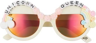 Rad + Refined Unicorn Queen Round Sunglasses