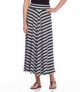 I.N. Studio Stripe Maxi Skirt