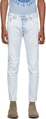 DSQUARED2 Blue Sugar Cool Guy Jeans