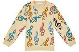 Mini Rodini Musical Note Print Sweatshirt