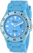 Freelook Men's HA1433-6C Sea Diver Jelly Silicone Band with Dial Watch
