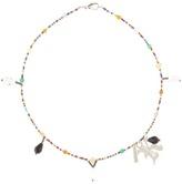 Christopher Kane Embellished beaded necklace