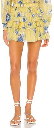 LoveShackFancy Brynlee Skirt