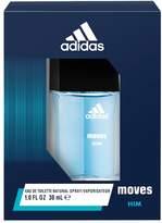 adidas Moves for Him Men's Mini Cologne - Eau de Toilette