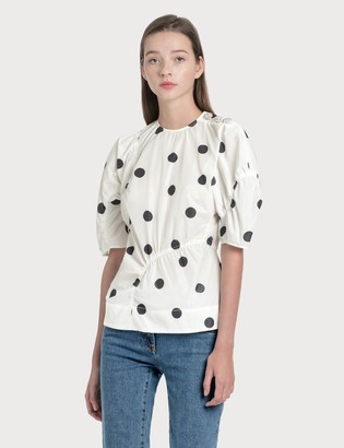 Ganni Recycled Polyester Blouse