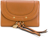 See by Chloe classic long wallet - women - Cotton/Leather - One Size