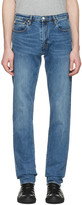 Paul Smith Blue Tapered Jeans
