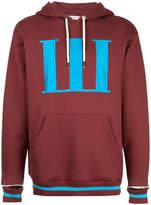 Palm Angels logo printed hoodie