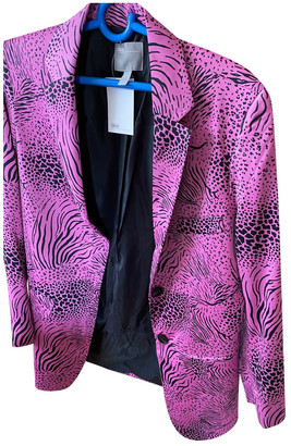 ASOS Pink Silk Jacket for Women