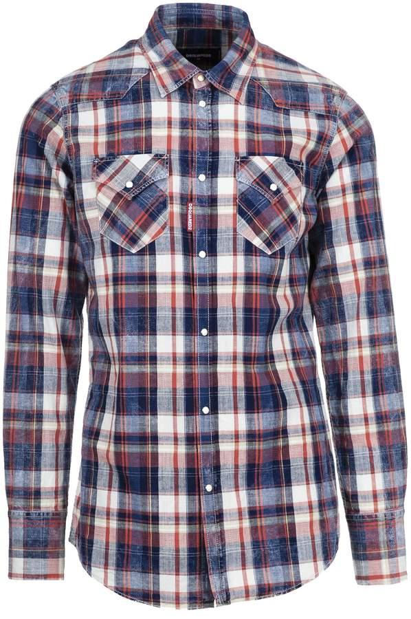 DSQUARED2 2 Plaid Shirt