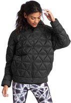 Gap PrimaLoft® oversize zip hooded puffer jacket