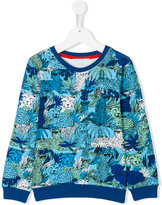 Little Marc Jacobs leopard print sweatshirt - kids - Cotton - 2 yrs