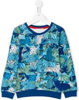 Little Marc Jacobs leopard print sweatshirt - kids - Cotton - 3 yrs