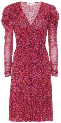Diane von Furstenberg Alyssa floral midi dress