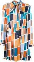 MSGM pleated skirt dress - women - Silk - 46