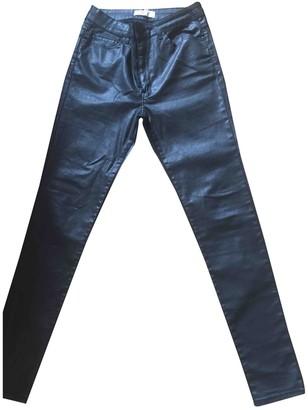 MANGO Black Denim - Jeans Trousers for Women