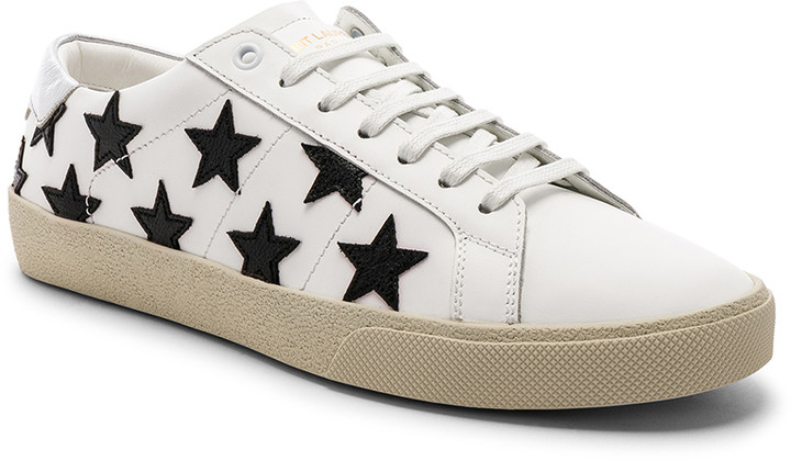bf7e2a00053 Saint Laurent Black Men's Sneakers | over 100 Saint Laurent Black Men's  Sneakers | ShopStyle