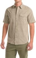 Woolrich Zephyr Ridge Shirt - Snap Front, Short Sleeve (For Men)