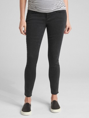 Gap Maternity Soft Wear Full Panel True Skinny Jeans