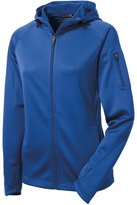 Sport-Tek Women's Tech Fleece Full Zip Hooded Jacket