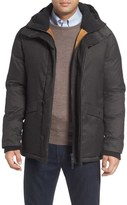 Cole Haan Parka with Faux Shearling Lined Hood