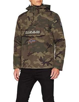 Napapijri Men's Rainforest Camou Jacket,XXX-Large