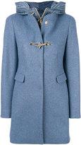 Fay hybrid hooded coat