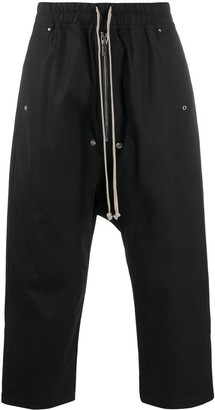 Rick Owens Cropped Tracksuit Trousers