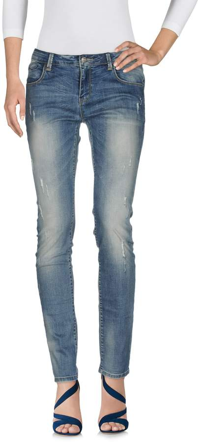 Manila Grace Denim pants - Item 42606261