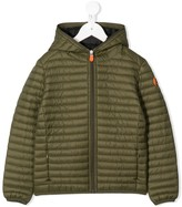 Save The Duck Kids Giga padded hooded jacket