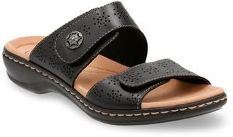 Clarks Leisa Lacole Women's Leather Slide Sandals